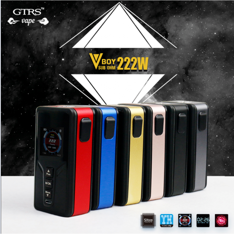 GTRS Tech VBoy 222W Mod alle farben