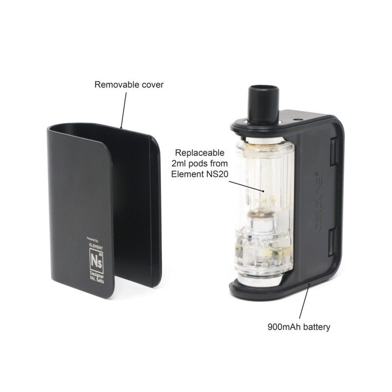 Aspire Gusto Mini Starterkit pods