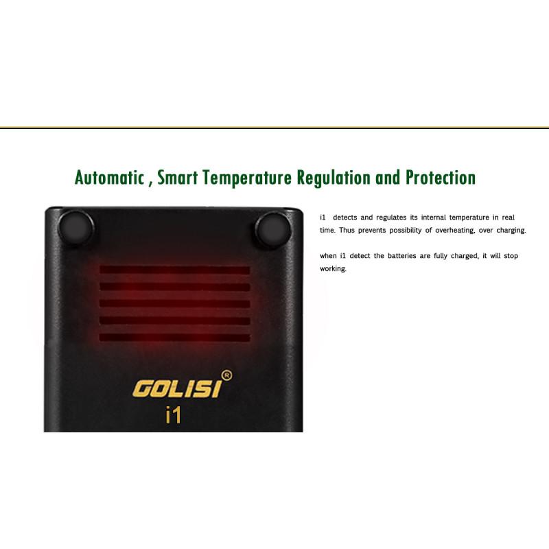 Golisi i1 Temperatursteuerung