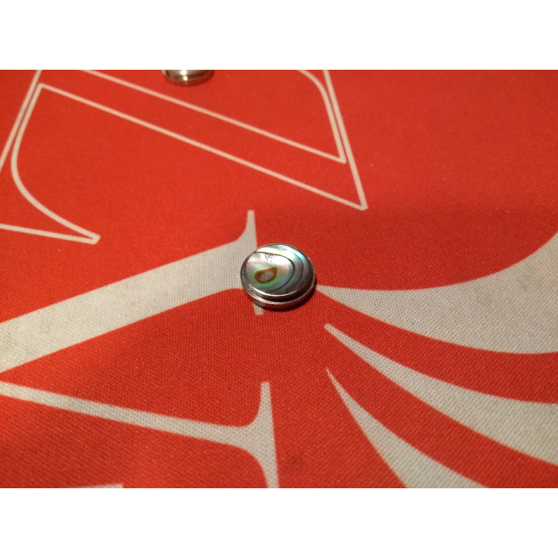Billet Box Vapor Billet Box Button Perlmutt