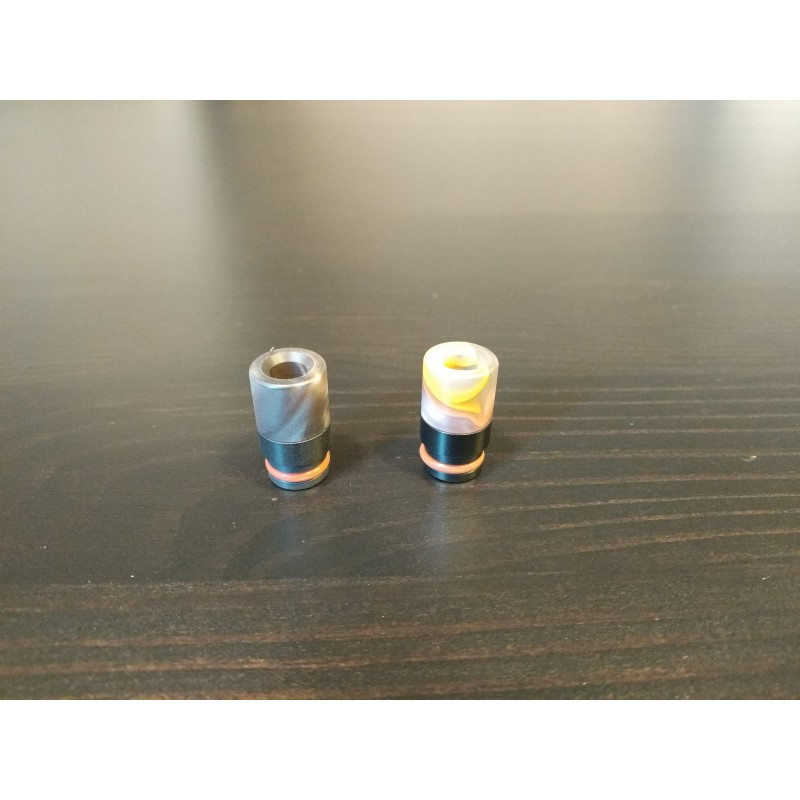Drip Tips POM-Resin 510 Bright und Dark Random