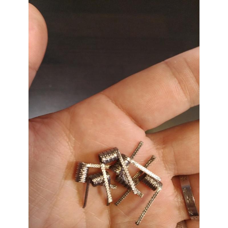 Crazy Wire Pre-Made Ni80 Super Alien Coils 0.26Ω Ansicht Coils