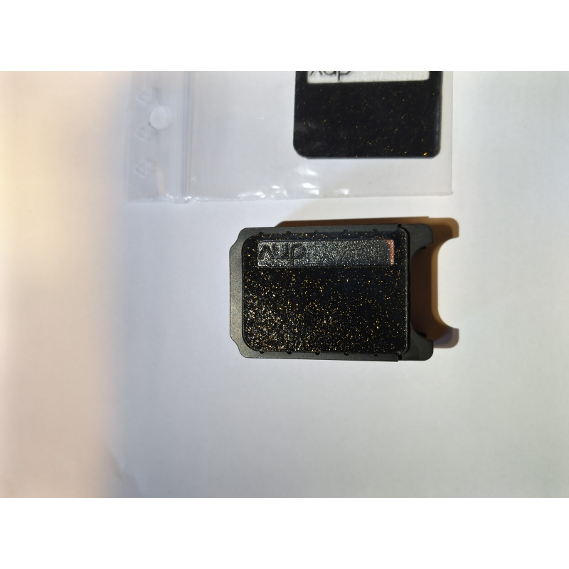 DnV Unbreakable Boro V2 Black Copper Flakes