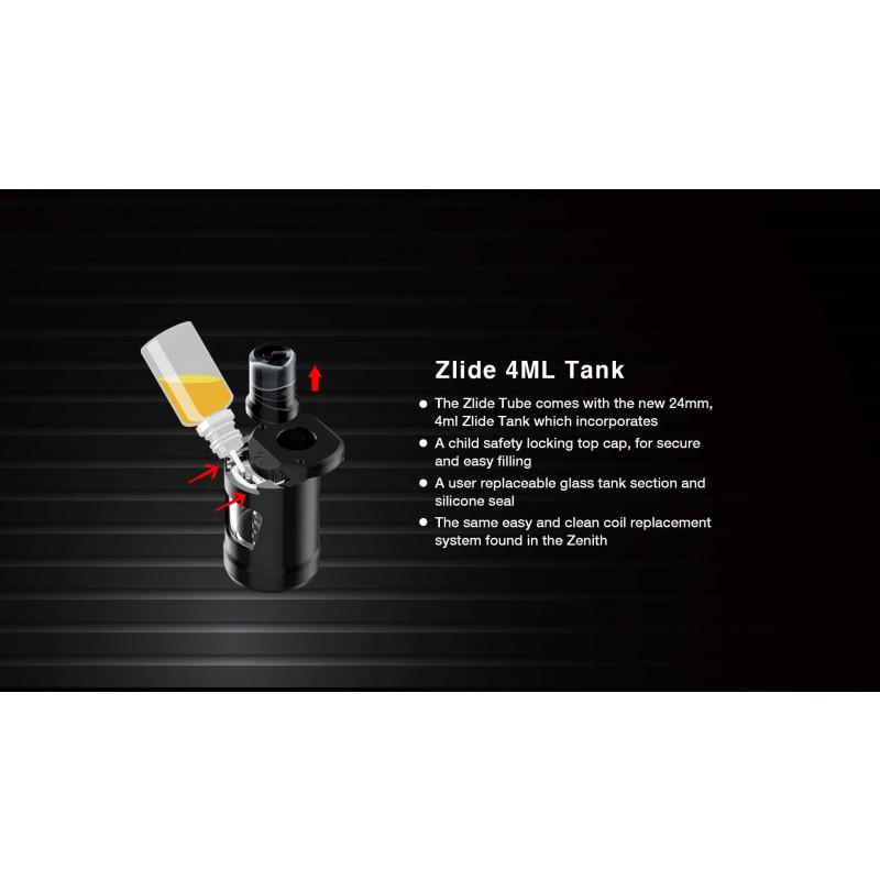 Innokin Zlide Tube Kit befüllen