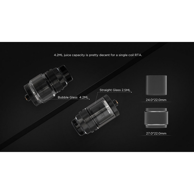 Augvape Intake RTA Glasvergleich