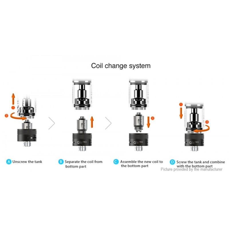 Justfog Q16 Pro Tank coils