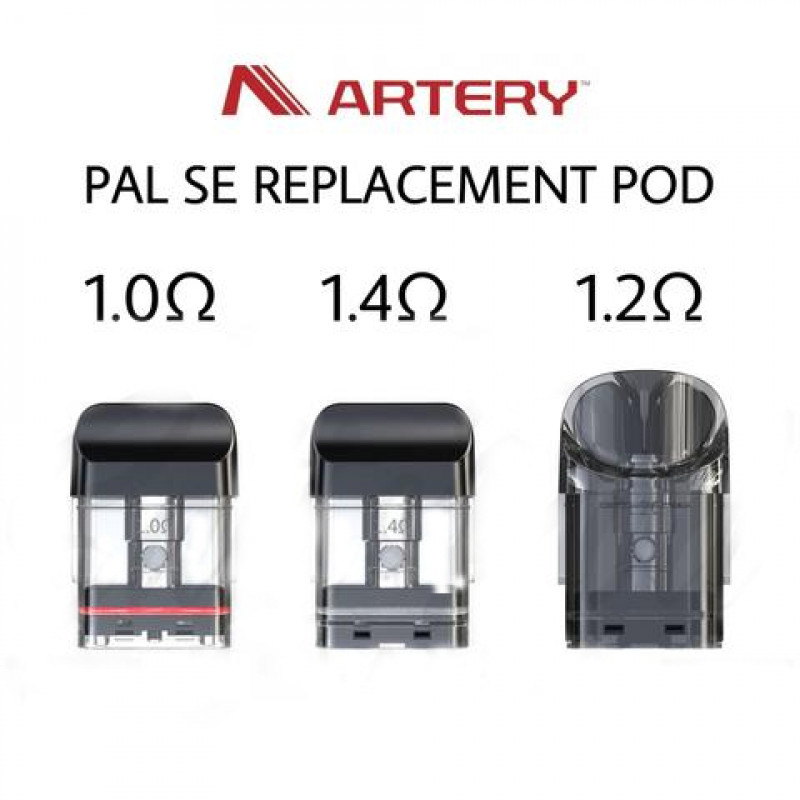 Artery PAL SE Ersatz-Pods Alle
