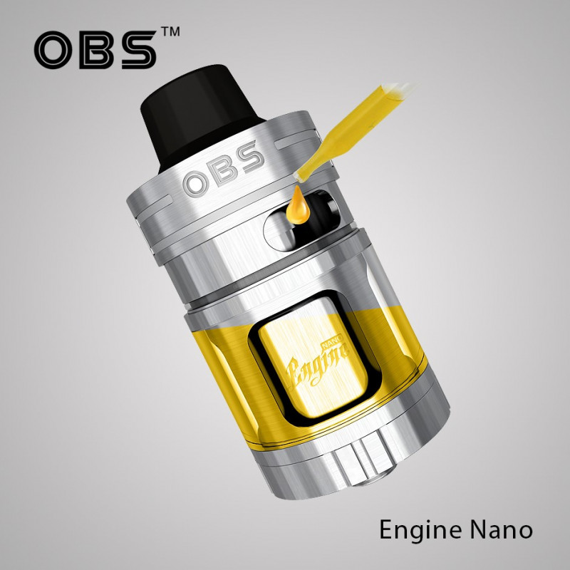 OBS Engine Nano silver liquidöffnung