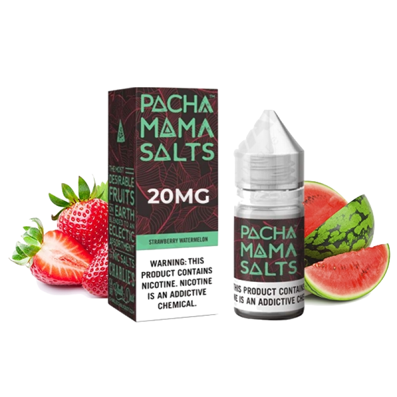 PACHA MAMA Salts Strawberry Watermelon Früchte