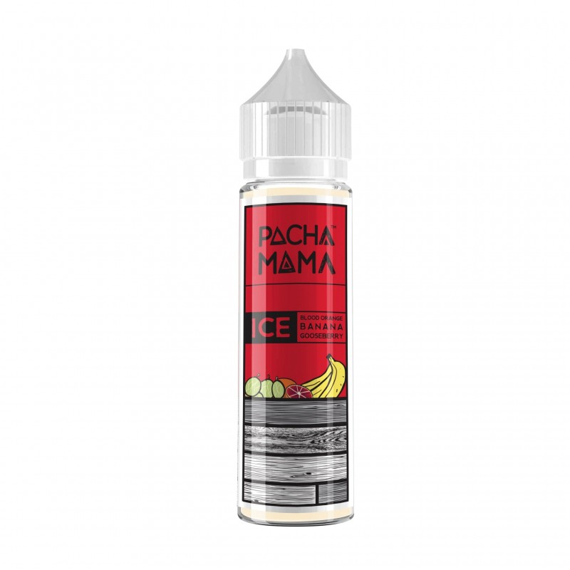 Pacha Mama Blood Orange, Banana, Gooseberry Ice