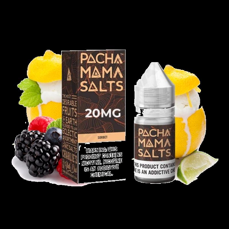PACHA MAMA Salts Sorbet mit früchten