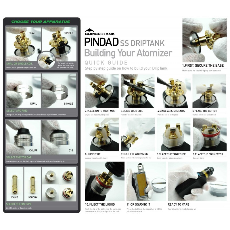 Pindad RDTA von Bombertech Manual