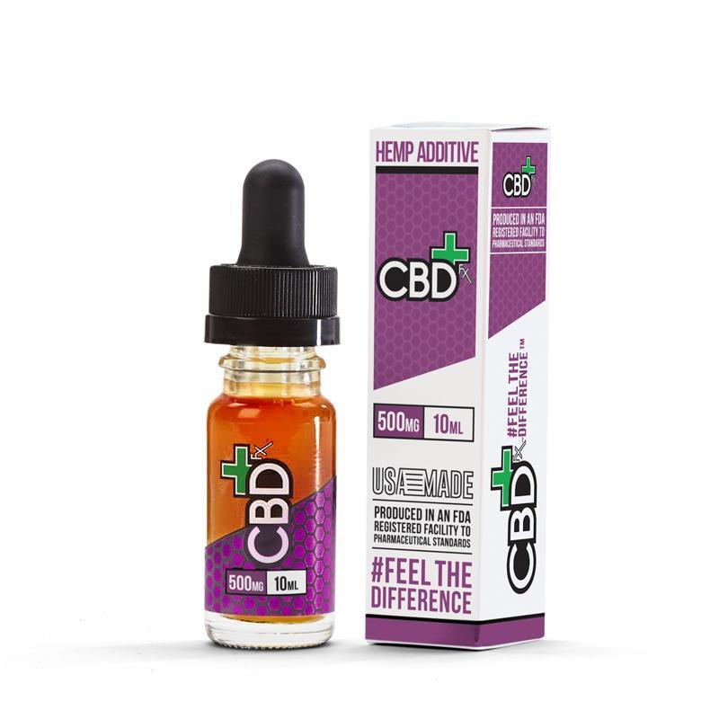 CBDfx CBD Vape Additive 500mg Flasche