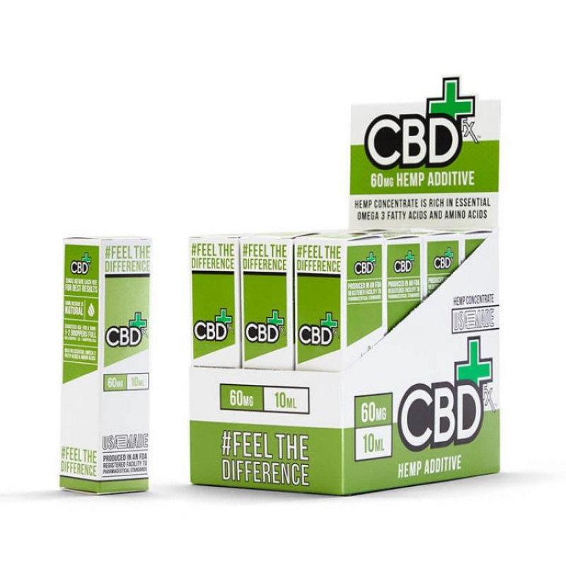 CBDfx CBD Vape Additive 60mg Box