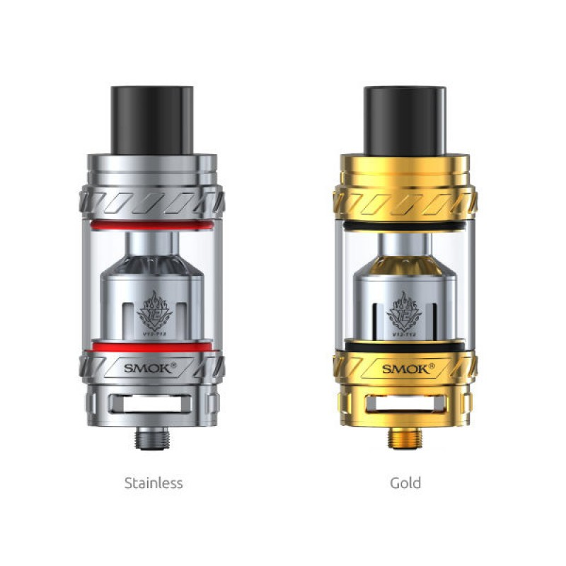 Smok TFV12 Cloud Beast stainless and gold