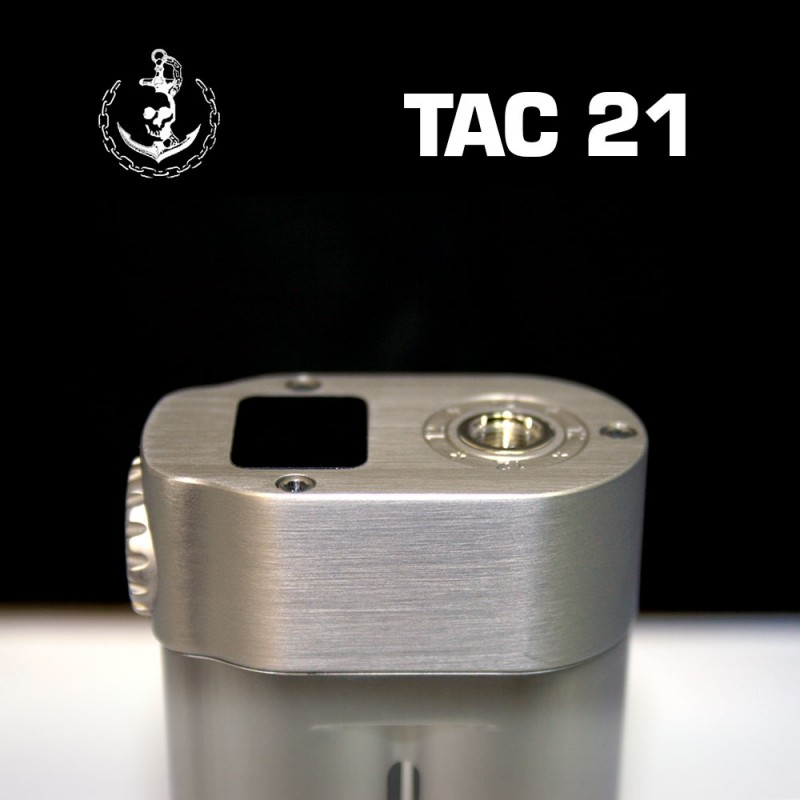 Squid Industries TAC21 Oberseite mit 510er und Display
