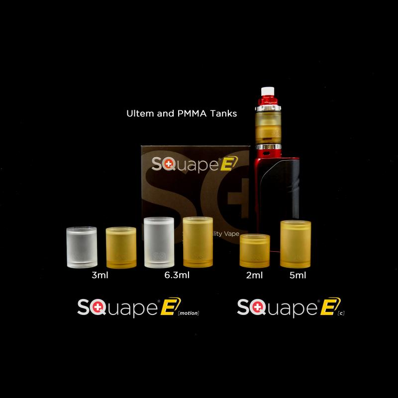 Squape E Tankgläser Versionen