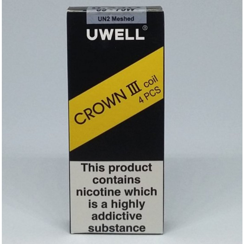 Uwell Crown 3 Coils un2 meshed