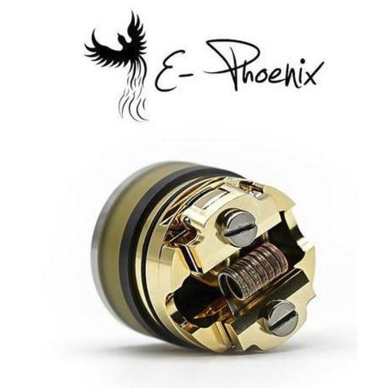 E-Phoenix The Legend RDTA liegend mit Wicklung