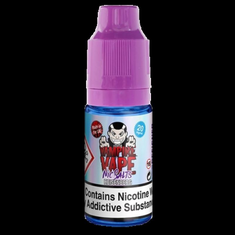 VAMPIRE VAPE Heisenberg Nic Salts Clean