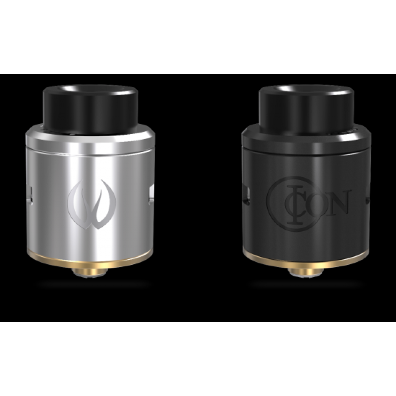 Vandy Vape Icon RDA ss and black
