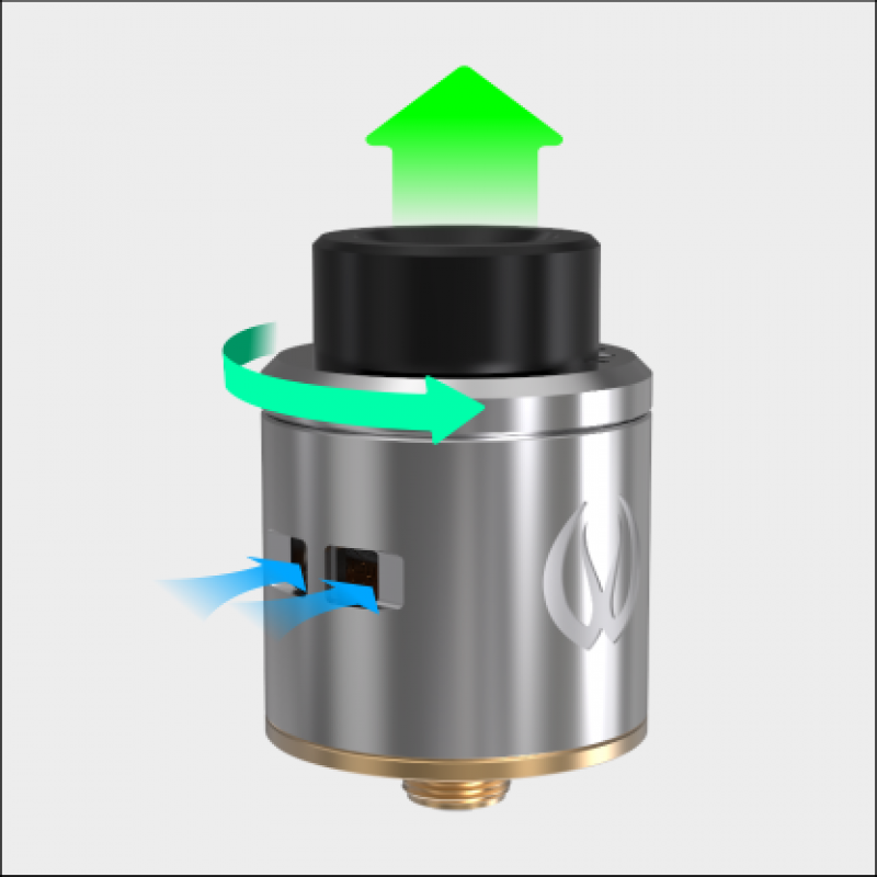 Vandy Vape Icon RDA airflow