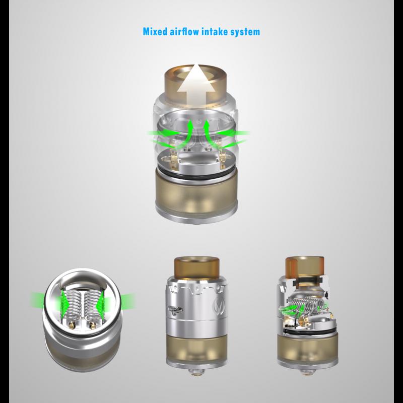 Vandy Vape Pyro 24 RDTA airflow