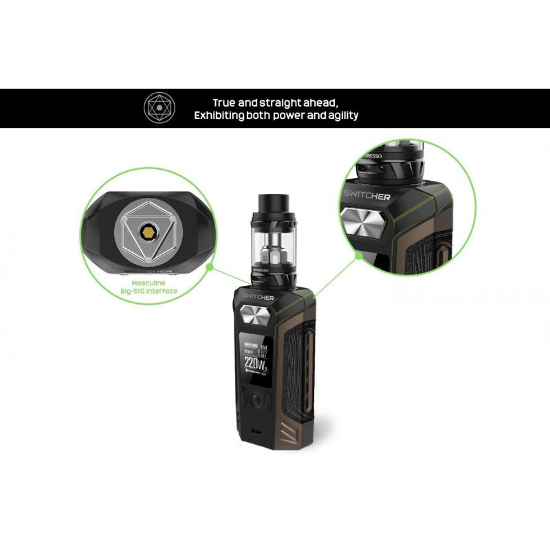 Vaporesso Switcher – NRG Kit anschluss