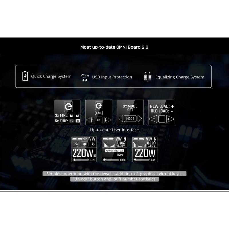 Vaporesso Switcher – NRG Kit display