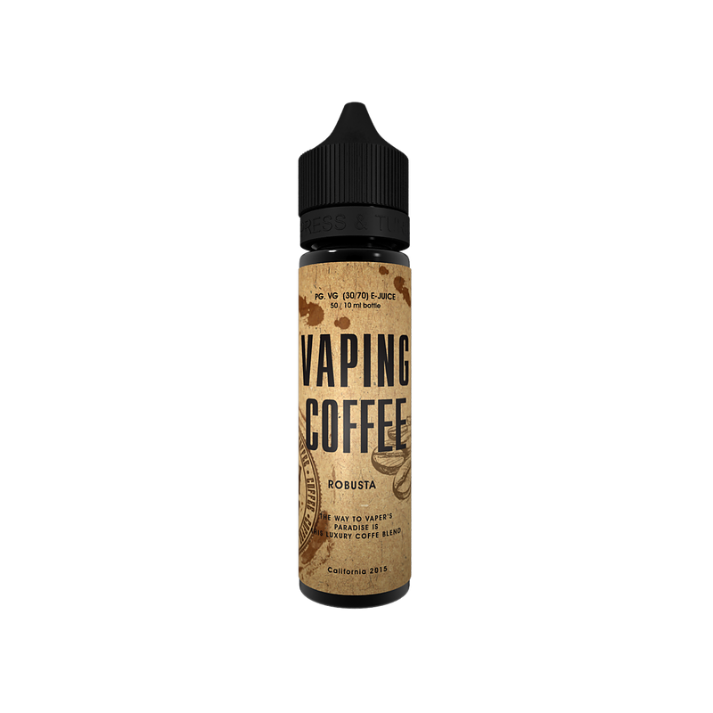 Vaping Coffee Robusta Flasche