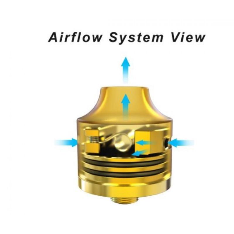 Oumier Wasp Nano RDA airflow
