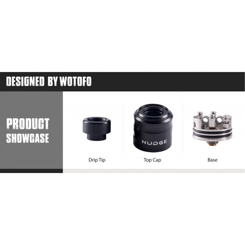 Wotofo Nudge RDA showcase