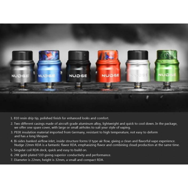 Wotofo Nudge RDA 22mm colors