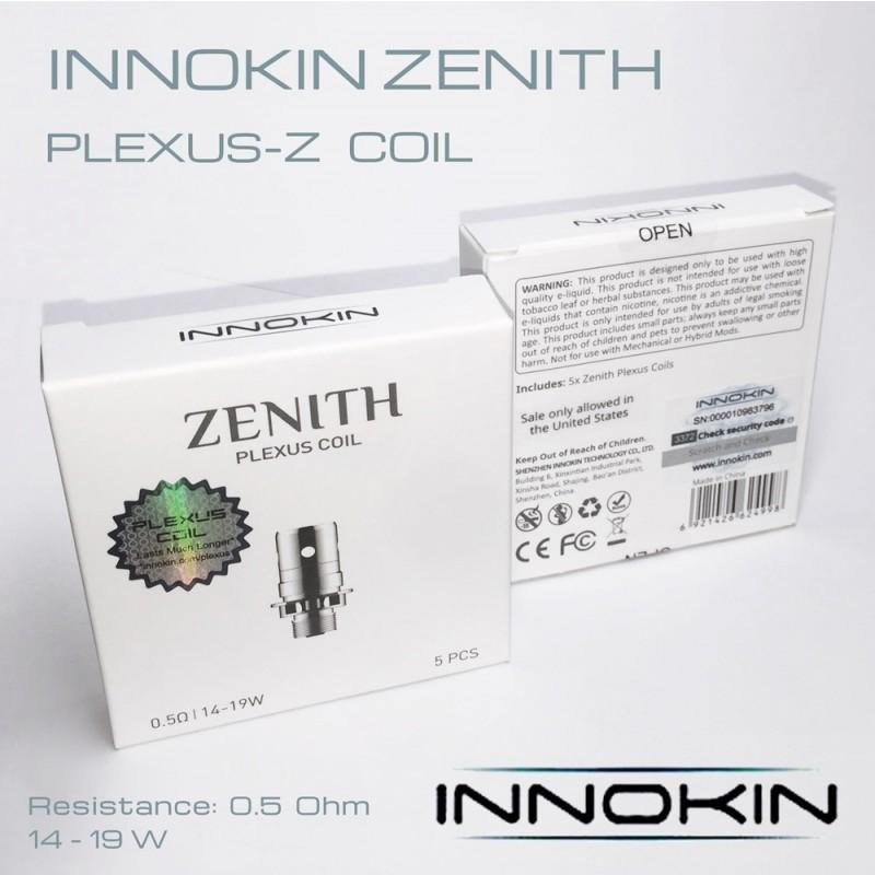 Innokin Zenith Coils Plexus box