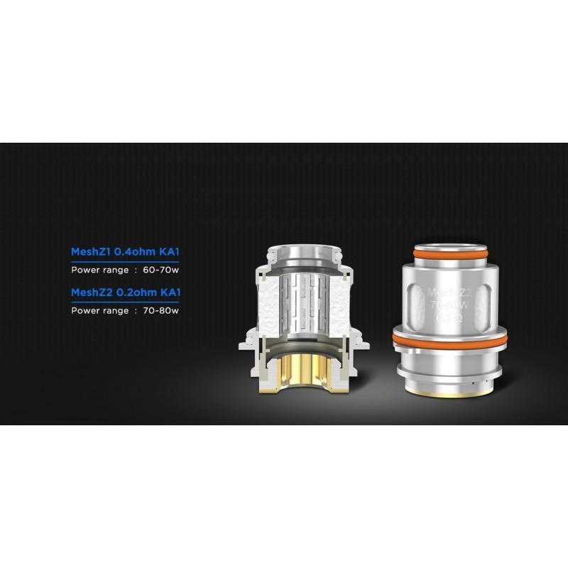 Geekvape Zeus Subohm Tank coils