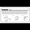 Smoking Vapor Mi-Pod Ersatzpods Zugwiderstandsreduzierer einsetzen